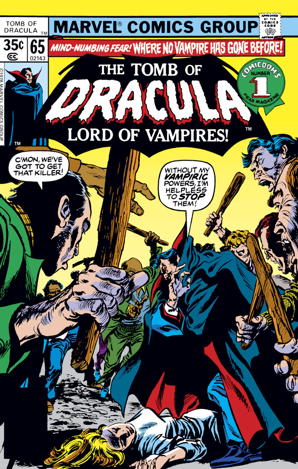 Tomb of Dracula Vol 1 65