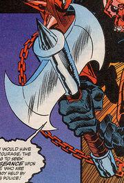 Bloodaxe (Item) from Thunderstrike Vol 1 1 0001.jpg