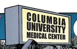 Columbia University Medical Center from Amazing Spider-Man Vol 1 567 001.png