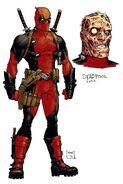 Deadpool Vol 5 1 Design Variant Textless