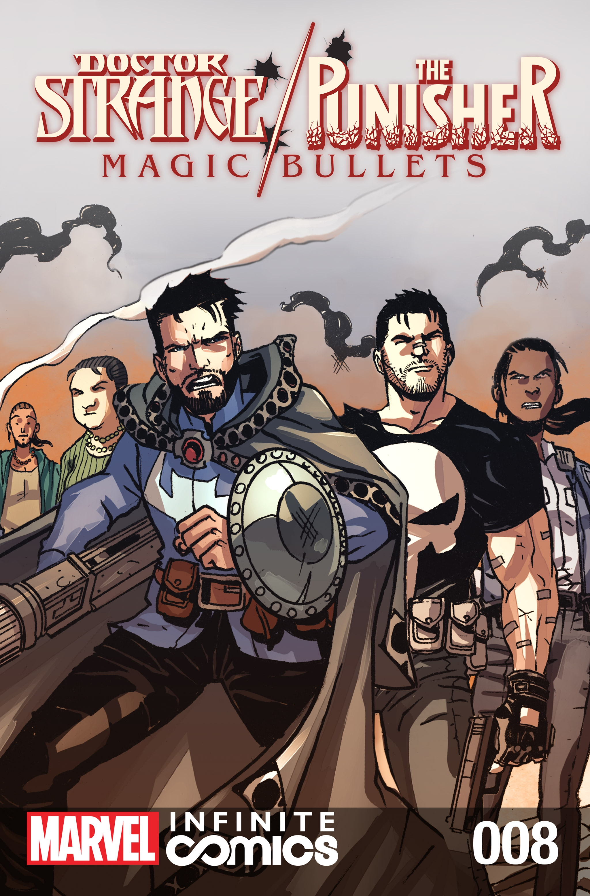 Doctor Strange / Punisher: Magic Bullets Infinite Comic Vol 1 8