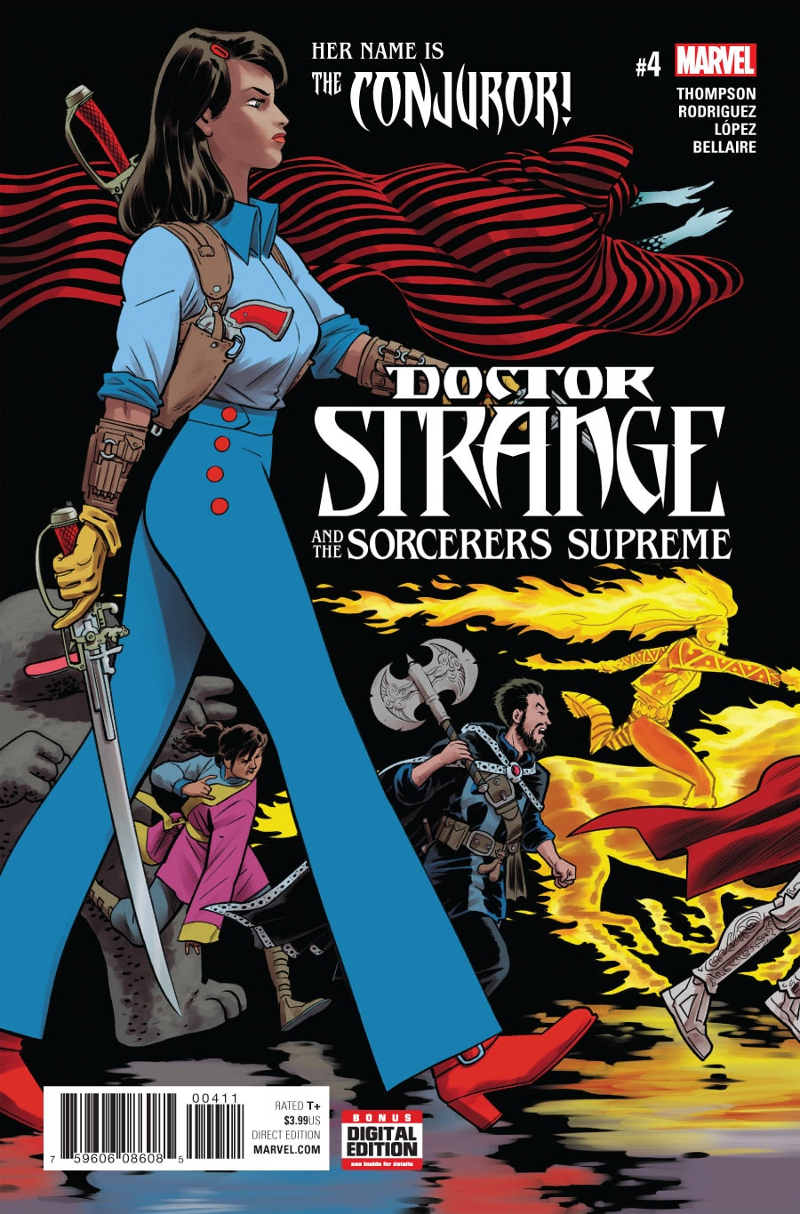 Doctor Strange and the Sorcerers Supreme Vol 1 4