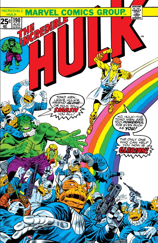 Incredible Hulk Vol 1 190