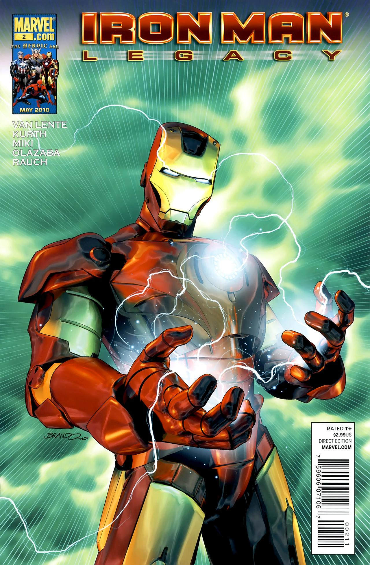 Iron Man: Legacy Vol 1 2