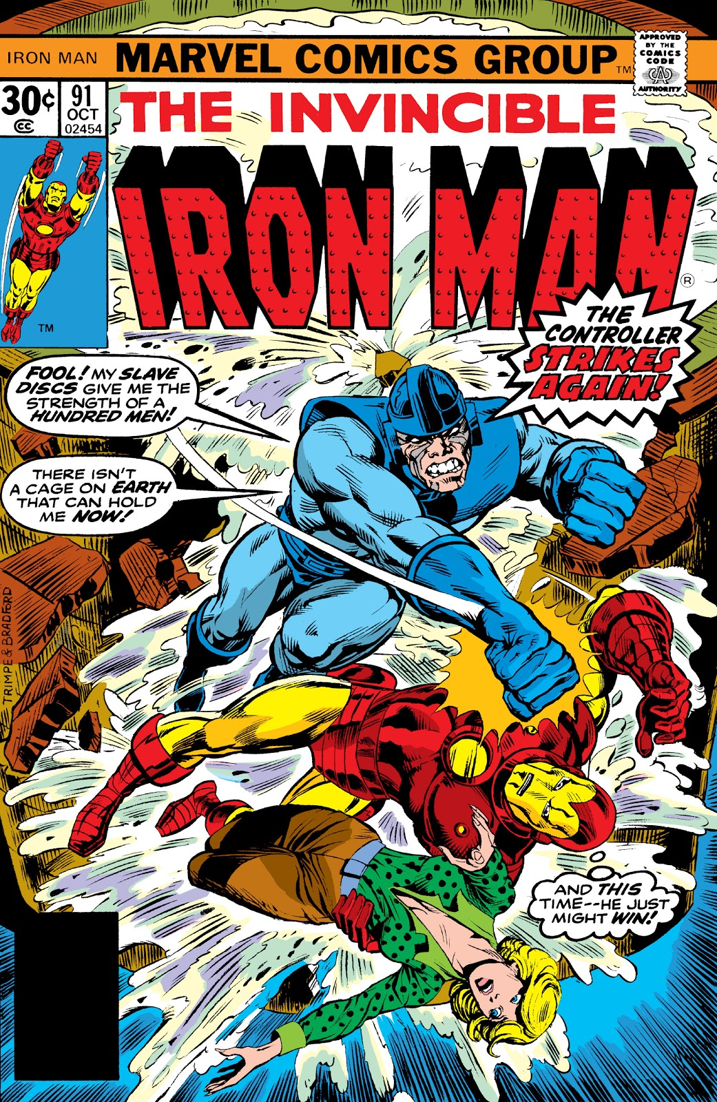 Iron Man Vol 1 91