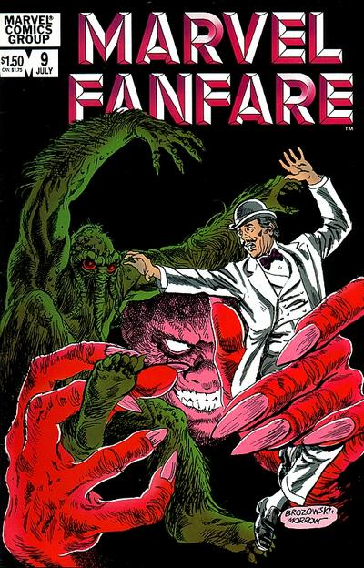 Marvel Fanfare Vol 1 9