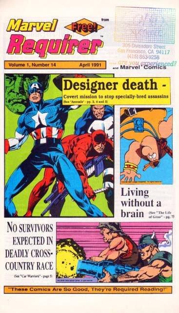 Marvel Requirer Vol 1 14