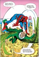 Peter Parker (Earth-616) and Adrian Toomes (Earth-616) from Amazing Spider-Man Annual Vol 1 1