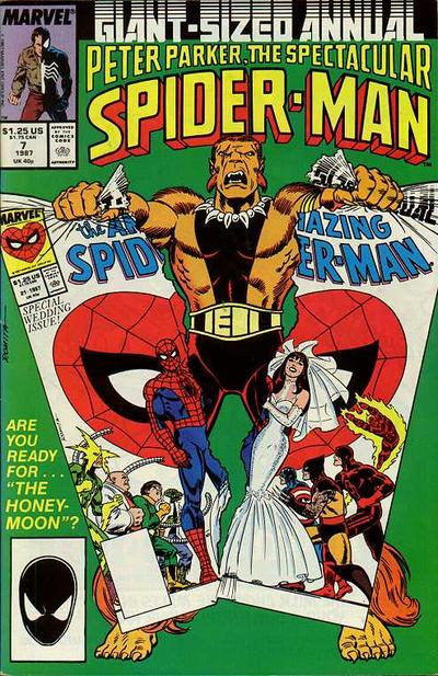 Peter Parker, The Spectacular Spider-Man Annual Vol 1 7