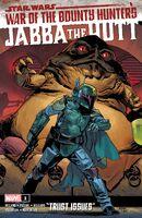 Star Wars War of the Bounty Hunters - Jabba the Hutt Vol 1 1