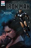 Tony Stark Iron Man Vol 1 1 Black and Gold Armor Variant