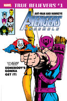 True Believers Ant-Man and Hawkeye - Avengers Assemble Vol 1 1