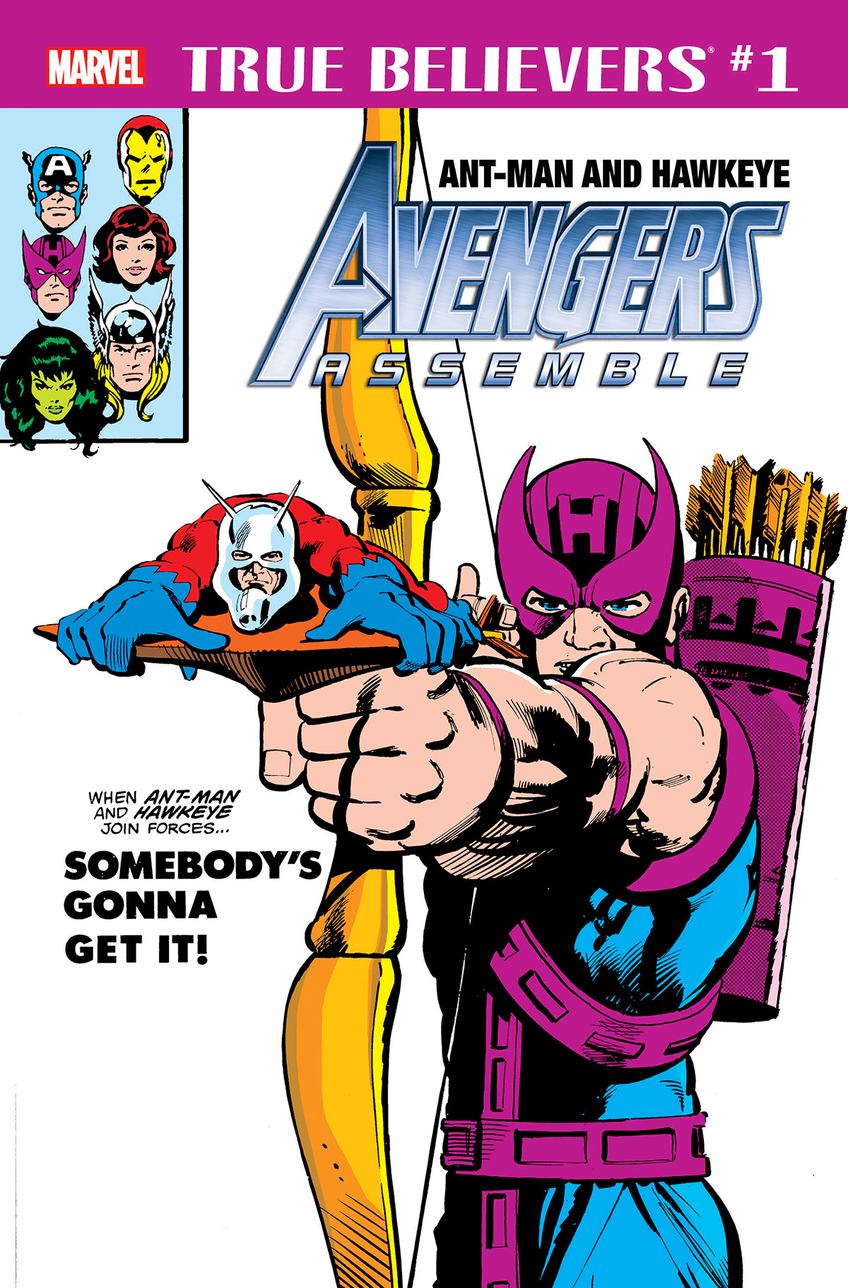 True Believers: Ant-Man and Hawkeye - Avengers Assemble Vol 1 1