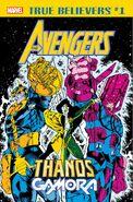 True Believers Avengers - Thanos & Gamora Vol 1 1