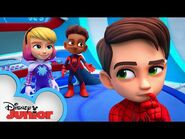 WEB-STER - Marvel's Spidey and his Amazing Friends - @Disney Junior @Marvel HQ