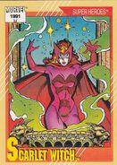 Wanda Maximoff (Earth-616) from Marvel Universe Cards Series II 0001