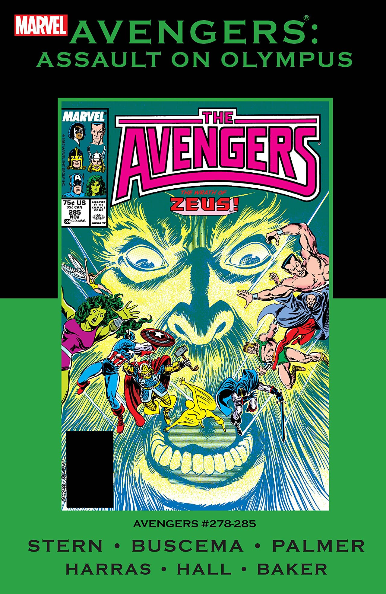 Avengers: Assault on Olympus TPB Vol 1