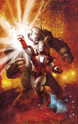Avengers Assemble Vol 2 14AU Many Armors of Iron Man Variant Textless