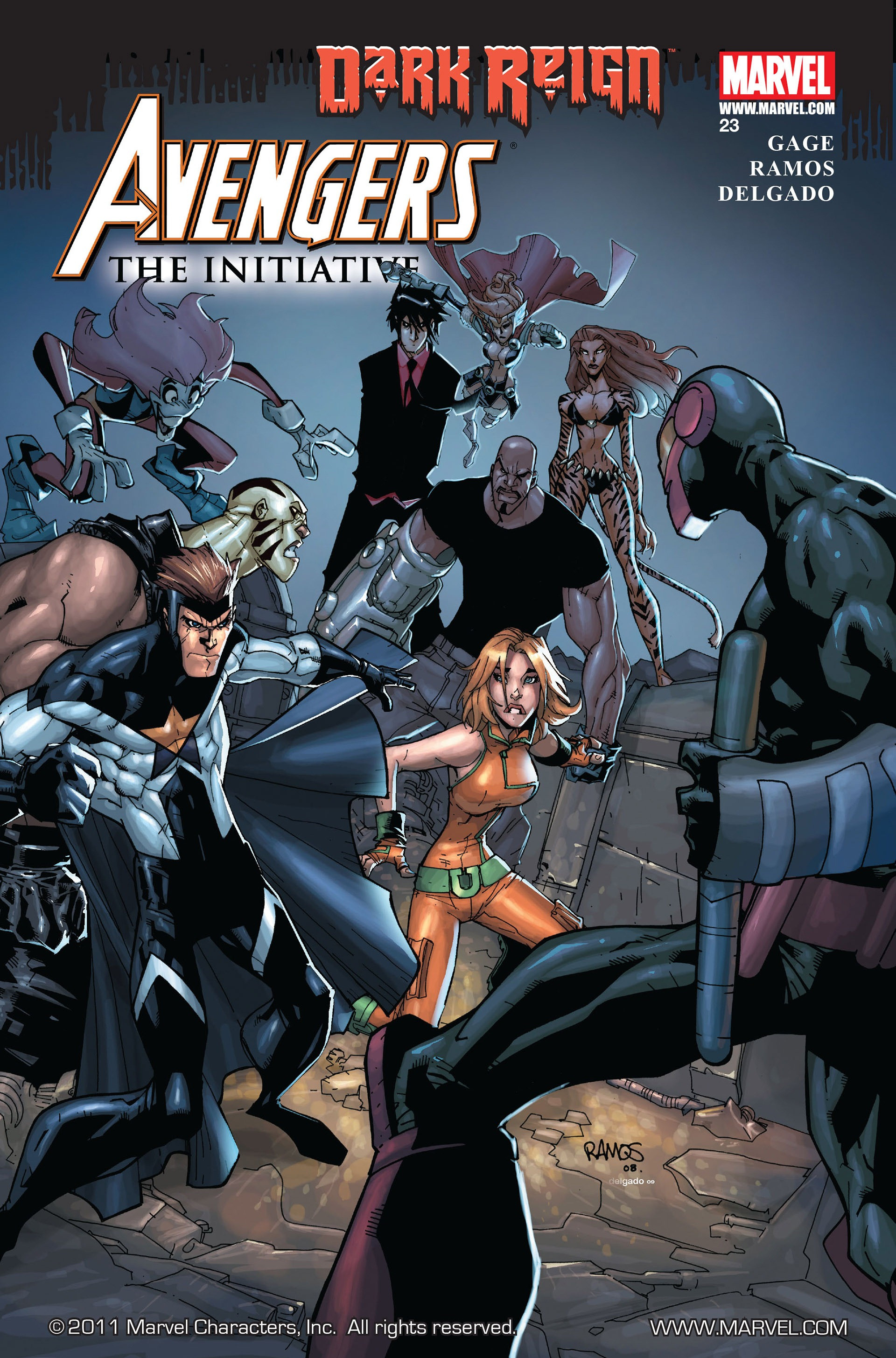 Avengers: The Initiative Vol 1 23