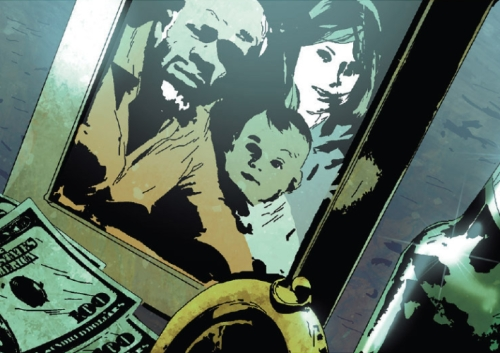 Danielle Cage (Earth-21923), Luke Cage (Earth-21923), and Jessica Jones (Earth-21923) from Old Man Logan Vol 1 1 001.jpg