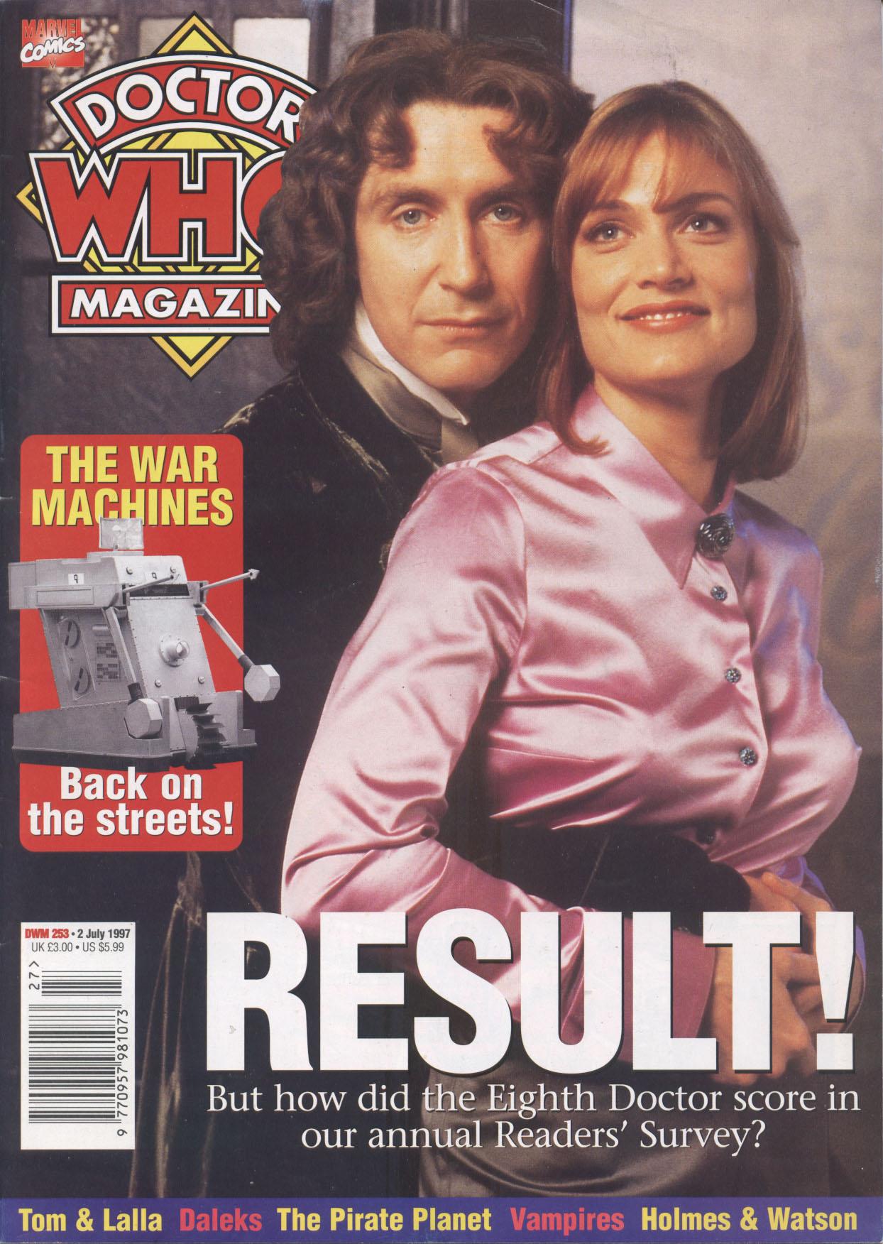 Doctor Who Magazine Vol 1 253
