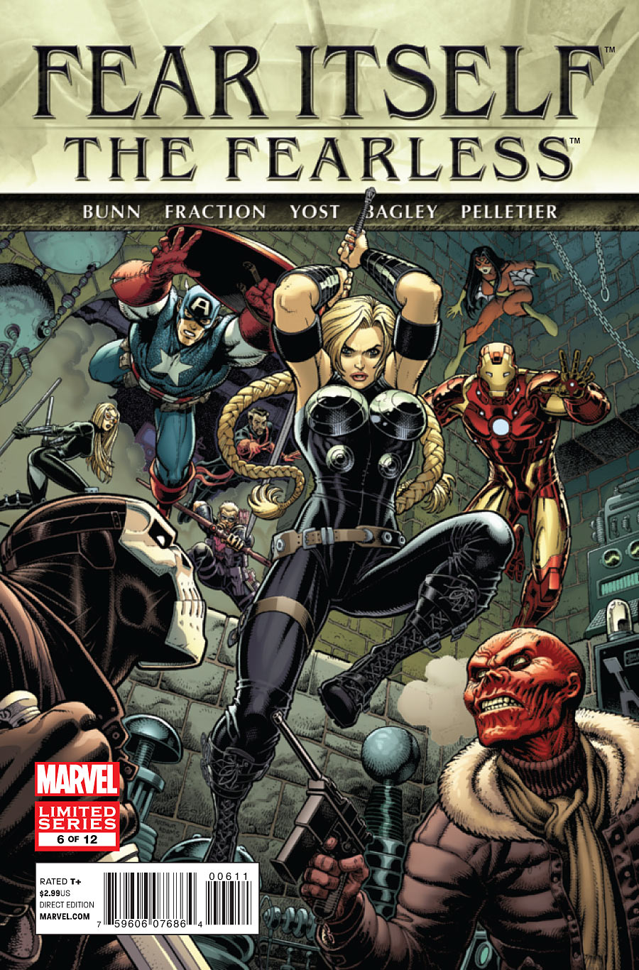 Fear Itself: The Fearless Vol 1 6