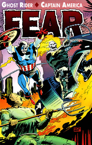 Ghost Rider - Captain America: Fear Vol 1 1