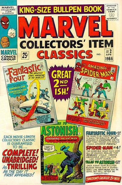 Marvel Collectors' Item Classics Vol 1 2