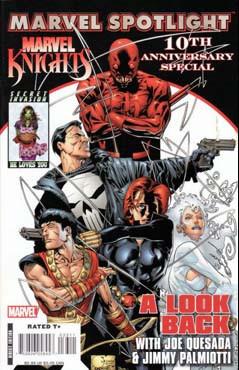 Marvel Spotlight: Marvel Knights 10th Anniversary Vol 1 1
