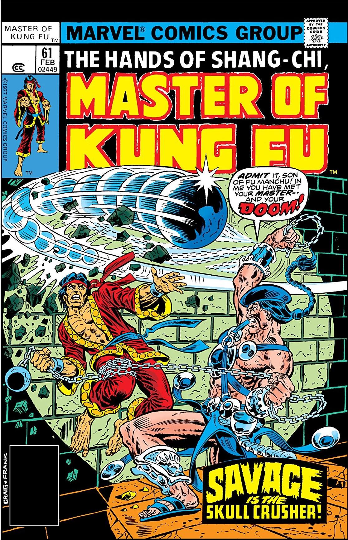 Master of Kung Fu Vol 1 61