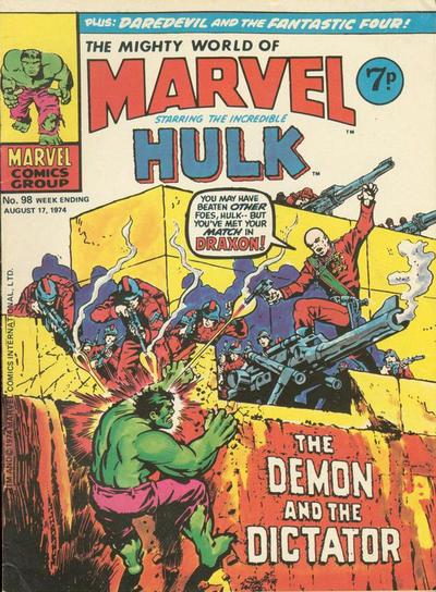 Mighty World of Marvel Vol 1 98