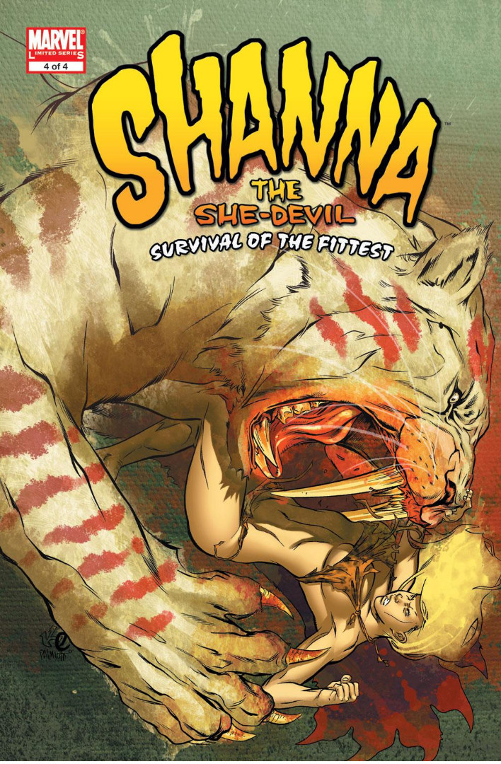 Shanna the She-Devil: Survival of the Fittest Vol 1 4