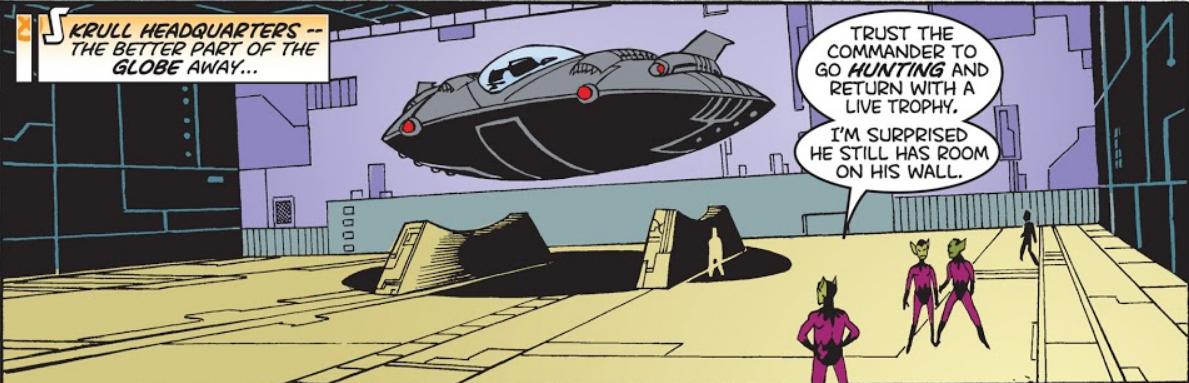 Skrull Headquarters