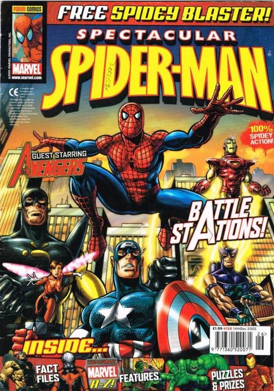 Spectacular Spider-Man (UK) Vol 1 126