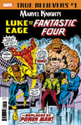 True Believers Marvel Knights 20th Anniversary - Luke Cage & the Fantastic Four Vol 1 1