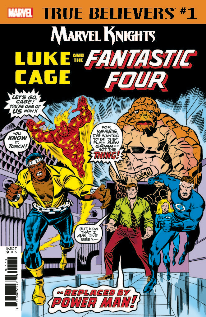 True Believers: Marvel Knights 20th Anniversary - Luke Cage & the Fantastic Four Vol 1