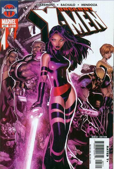 Uncanny X-Men Vol 1 467