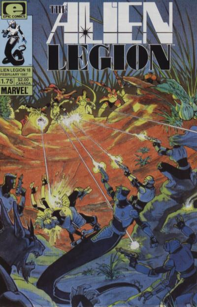Alien Legion Vol 1 18