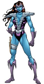 Andromeda Attumasen (Earth-616) from Defenders Strange Heroes Vol 1 1 001.jpg