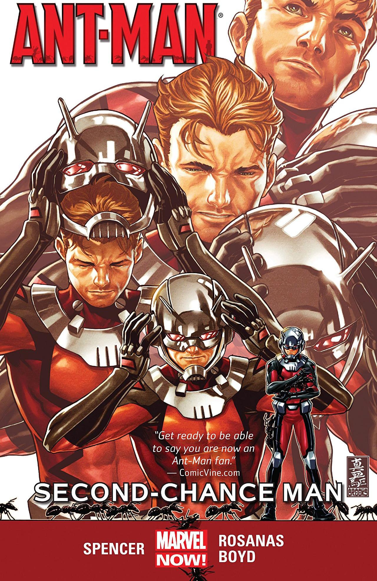 Ant-Man: Second Chance Man TPB Vol 1 1