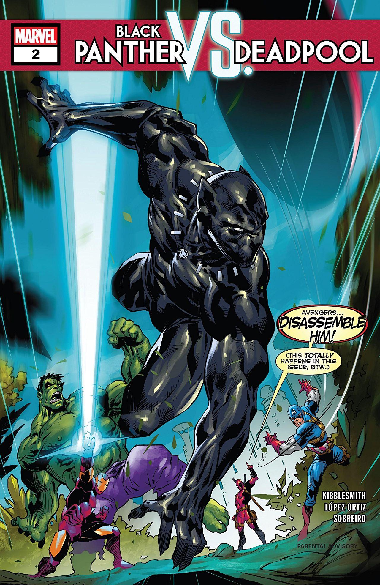 Black Panther vs. Deadpool Vol 1 2