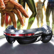 Cyclops' Visor from Extermination Vol 1 5 cover