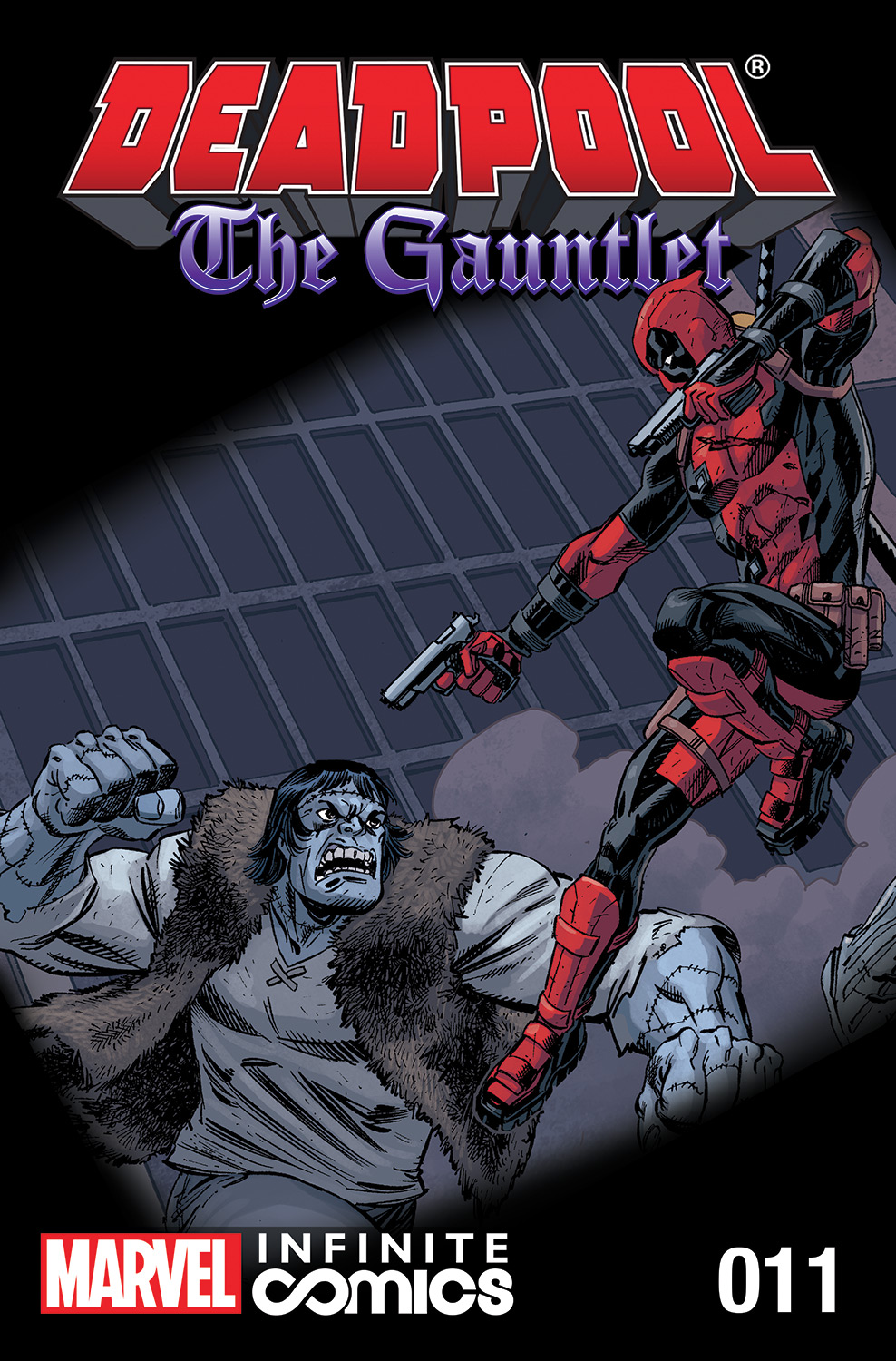 Deadpool: The Gauntlet Infinite Comic Vol 1 11