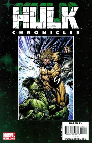 Hulk Chronicles: WWH Vol 1 6