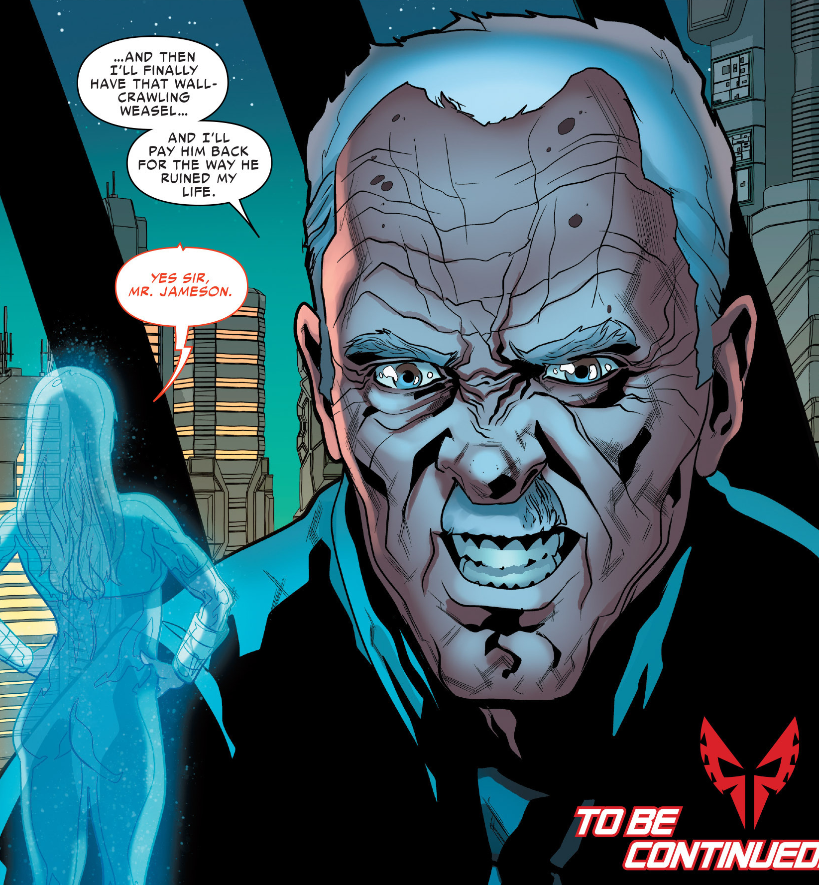 John Jonah Jameson (Skrull) (Earth-TRN590)