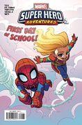 Marvel Super Hero Adventures Captain Marvel - First Day of School Vol 1 1