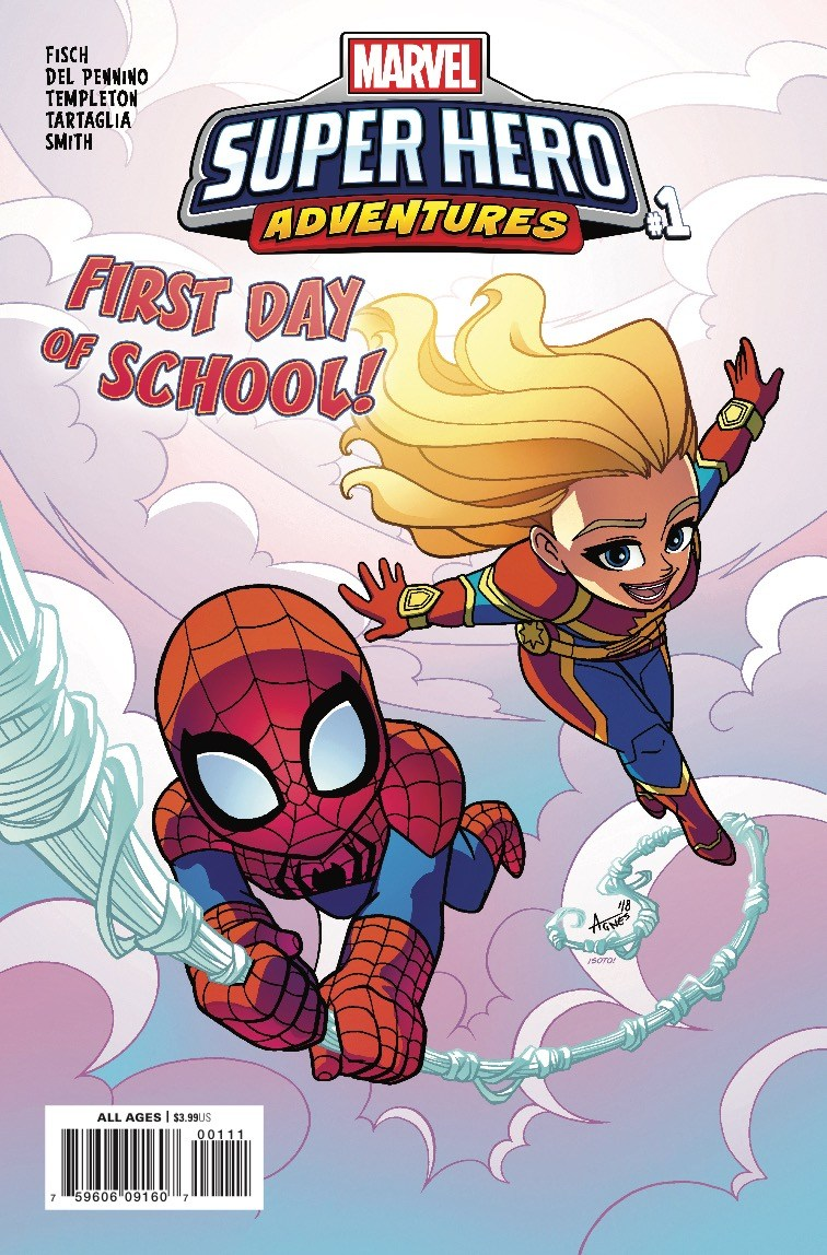 Marvel Super Hero Adventures: Captain Marvel - First Day of School Vol 1 1