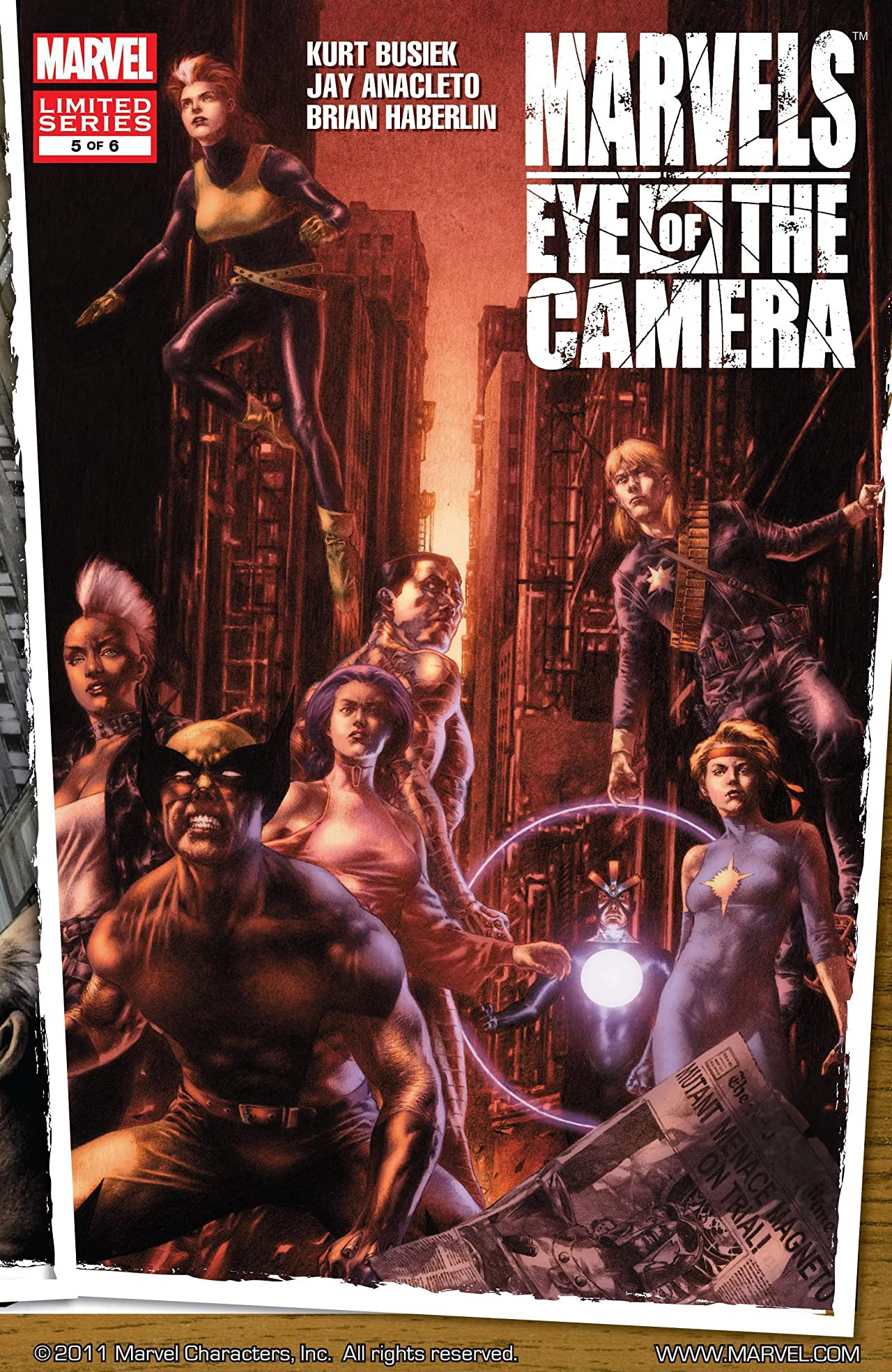 Marvels: Eye of the Camera Vol 1 5