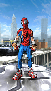 Peter Parker (Earth-TRN464) from Spider-Man Unlimited (video game).png