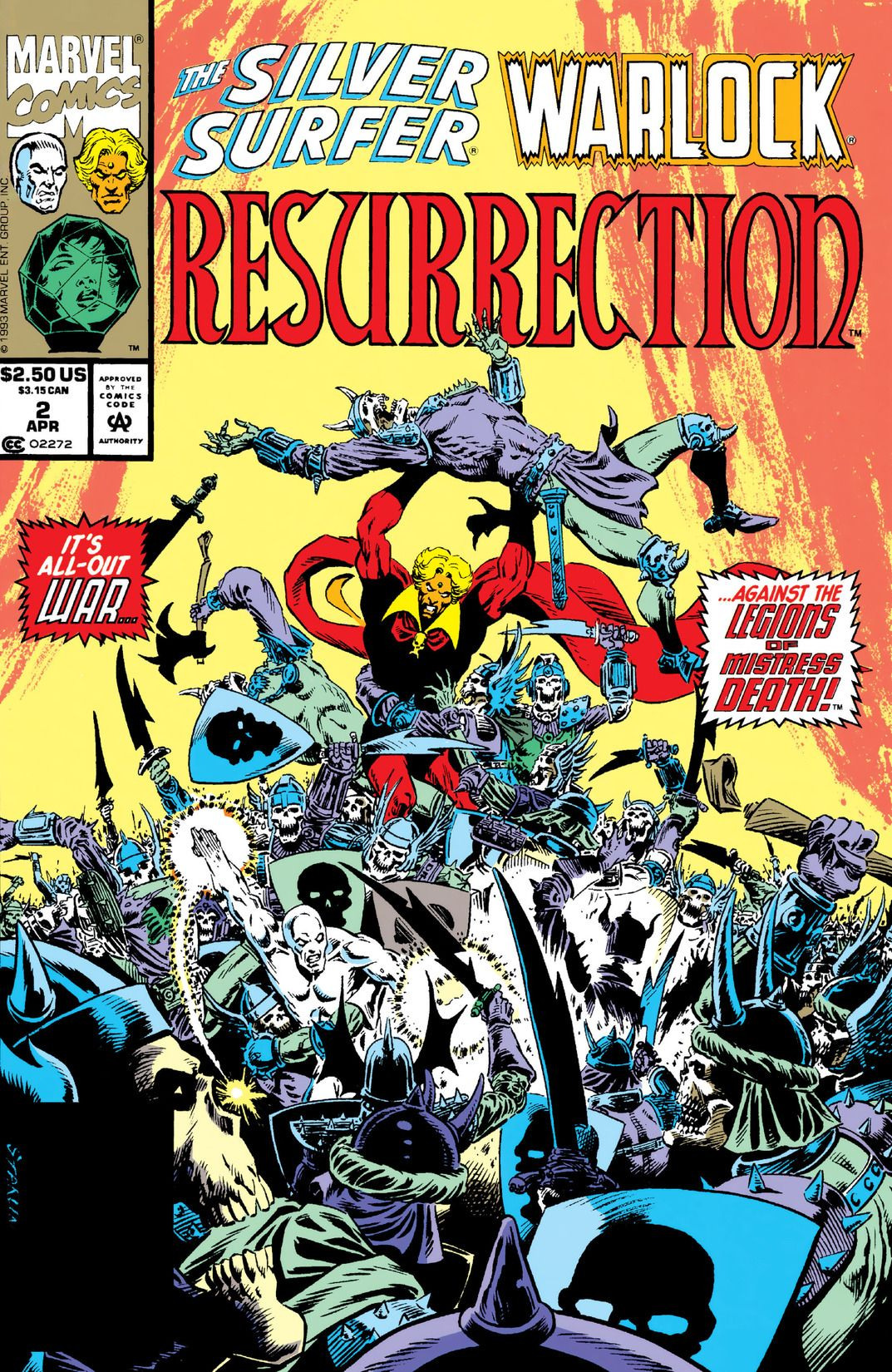 Silver Surfer/Warlock: Resurrection Vol 1 2